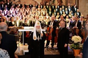 Приветствие Святейшего Патриарха Кирилла участникам XVIII Московского Пасхального фестиваля