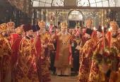 В день Светлого Христова Воскресения Блаженнейший митрополит Киевский Онуфрий возглавил пасхальные богослужения в Киево-Печерской лавре
