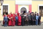 Правящий архиерей Элистинской епархии возглавил прошедший в столице Калмыкии Межрелигиозный совет республики