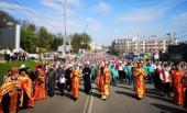 Многотысячный крестный ход верующих Украинской Православной Церкви состоялся на Пасху в Виннице