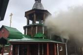В храме святителя Спиридона Тримифунтского поселка Межевой Челябинской области произошло возгорание