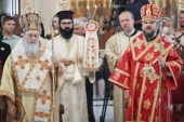 Делегация Московской духовной академии приняла участие в богослужениях в годовщину освящения русского храма на Кипре