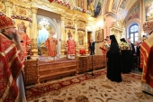 Слово Святейшего Патриарха Кирилла после Литургии в Покровском ставропигиальном монастыре
