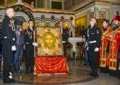 Принесение главной иконы Вооруженных сил Российской Федерации в воинские части и соединения военных округов началось с Южного военного округа