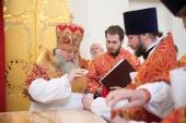 Митрополит Ханты-Мансийский Павел совершил великое освящение храма святых мучениц Веры, Надежды, Любови и матери их Софии в Сургуте