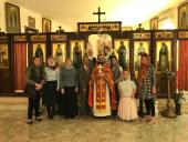 В Неделю 2-ю по Пасхе в Представительстве Русской Православной Церкви в Дамаске была совершена Литургия