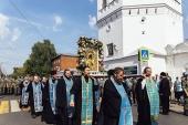 В Казахстан принесена чудотворная Феодоровская икона Божией Матери