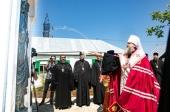 Глава Донской митрополии освятил воссозданный исторический комплекс рядом с кельей праведного Павла Таганрогского