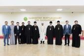 Состоялась встреча митрополита Астанайского Александра с Верховным муфтием Республики Казахстан