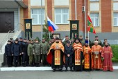 Вдоль российско-казахстанской границы по территории Карасукской епархии прошел традиционный крестный ход