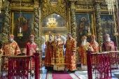 В Псковской епархии прошли торжества по случаю 80-летия митрополита Евсевия (Саввина)
