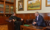 Председатель ОВЦС встретился с новоназначенным главой Представительства РФ при Палестинской национальной администрации