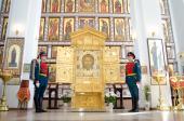 На Донскую землю принесена главная икона Вооруженных сил России