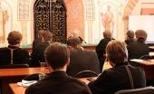 Председатель Синодального отдела по благотворительности прочитал заключительную лекцию на курсах повышения квалификации московских священнослужителей