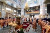 В Алма-Ате прошли торжества по случаю 20-летия учреждения Астанайской и Алма-Атинской епархии