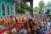 В Алма-Ате продолжились торжества по случаю 20-летия учреждения Астанайской и Алма-Атинской епархии