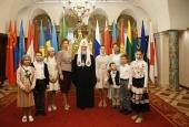 Святейший Патриарх Кирилл встретился с делегацией фонда «Женщины за жизнь»