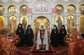 В день рождения царя-страстотерпца Николая II в Храме на Крови в Екатеринбурге была совершена Божественная литургия