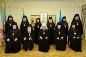 В Алма-Ате состоялось заседание Синода Казахстанского митрополичьего округа