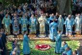 Патриарший экзарх всея Беларуси возглавил торжества в Жировичском монастыре по случаю праздника обретения Жировичской иконы Божией Матери