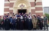 Председатель Синодального комитета по взаимодействию с казачеством встретился с духовниками казачьих обществ г. Москвы