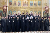 Состоялись торжества по случаю 25-летия архиерейской хиротонии митрополита Таллинского и всея Эстонии Евгения