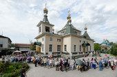 Завершилось пребывание чудотворной Феодоровской иконой Божией Матери в пределах Казахстанского митрополичьего округа