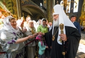 Проповедь Святейшего Патриарха Кирилла после Литургии в Николо-Перервинском монастыре