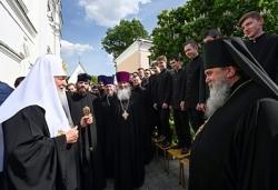 Святейший Патриарх Кирилл посетил Перервинскую духовную семинарию и гимназию имени митрополита Платона (Левшина)