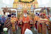 В день памяти святителя Николая Чудотворца Патриарший экзарх всея Беларуси совершил Литургию в Никольском храме города Минска