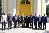 Председатель ОВЦС встретился с делегацией Высшего Президентского комитета Палестины по вопросам церкви