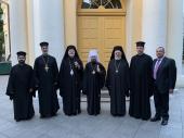 Митрополит Волоколамский Иларион встретился с главой Американской Архиепископии Антиохийского Патриархата