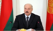 Президент Республики Беларусь А.Г. Лукашенко поздравил Святейшего Патриарха Кирилла с днем тезоименитства