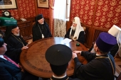 Состоялась встреча Святейшего Патриарха Кирилла с главой Американской архиепископии Антиохийского Патриархата