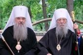 Митрополит Санкт-Петербургский Варсонофий поздравил митрополита Владимира (Котлярова) с 90-летием со дня рождения