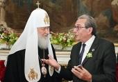 Состоялась встреча Святейшего Патриарха Кирилла с мэром Страсбурга Роланом Рисом