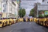 В Новосибирске состоялся общегородской крестный ход по случаю Дня славянской письменности и культуры