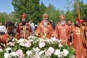 На месте массовых расстрелов в Оренбурге совершено поминальное богослужение