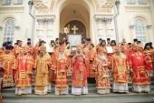 В Верхотурском Николаевском монастыре прошли торжества по случаю 30-летия со дня второго обретения мощей праведного Симеона Верхотурского