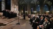 Святейший Патриарх Кирилл посетил концерт хора Киевских духовных школ в кафедральном соборе Страсбурга