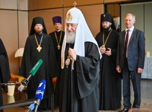 Интервью Святейшего Патриарха Кирилла в завершение визита в Страсбург