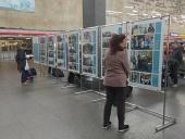 Санкт-Петербургский детский хоспис открыл фотовыставку в поддержку акции «Белый цветок» на Московском вокзале Северной столицы