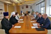 Председатель Финансово-хозяйственного управления Московского Патриархата встретился с руководителем Росимущества