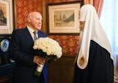 Состоялась встреча Святейшего Патриарха Кирилла с новоназначенным Послом России в Республике Беларусь