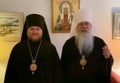 Епископ Сурожский Матфей посетил заседание Священного Архиерейского Синода Православной Церкви в Америке