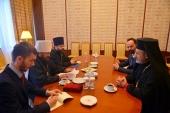 Состоялась встреча митрополита Волоколамского Илариона с иерархом Антиохийской Церкви