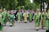 Митрополит Таллинский Евгений возглавил торжества в Яранске по случаю годовщины преставления прп. Матфея Яранского