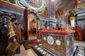 Предстоятель Русской Церкви освятил Воскресенский собор Новодевичьего монастыря в Санкт-Петербурге
