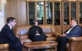Митрополит Волоколамский Иларион посетил Российский государственный педагогический университет имени А.И. Герцена