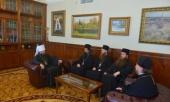 Митрополит Видинский Даниил посетил Отдел внешних церковных связей